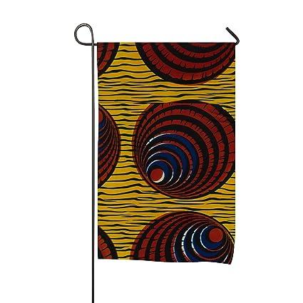 Amazon XASFF Classic Garden Flag African Tribal Patterns Flags Adorable African Tribal Patterns