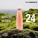 Swissbrand Water Bottle-1 Pack-Peach Echo