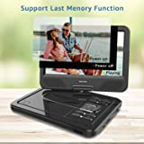 WONNIE 12.5 Inch Portable DVD Player for
