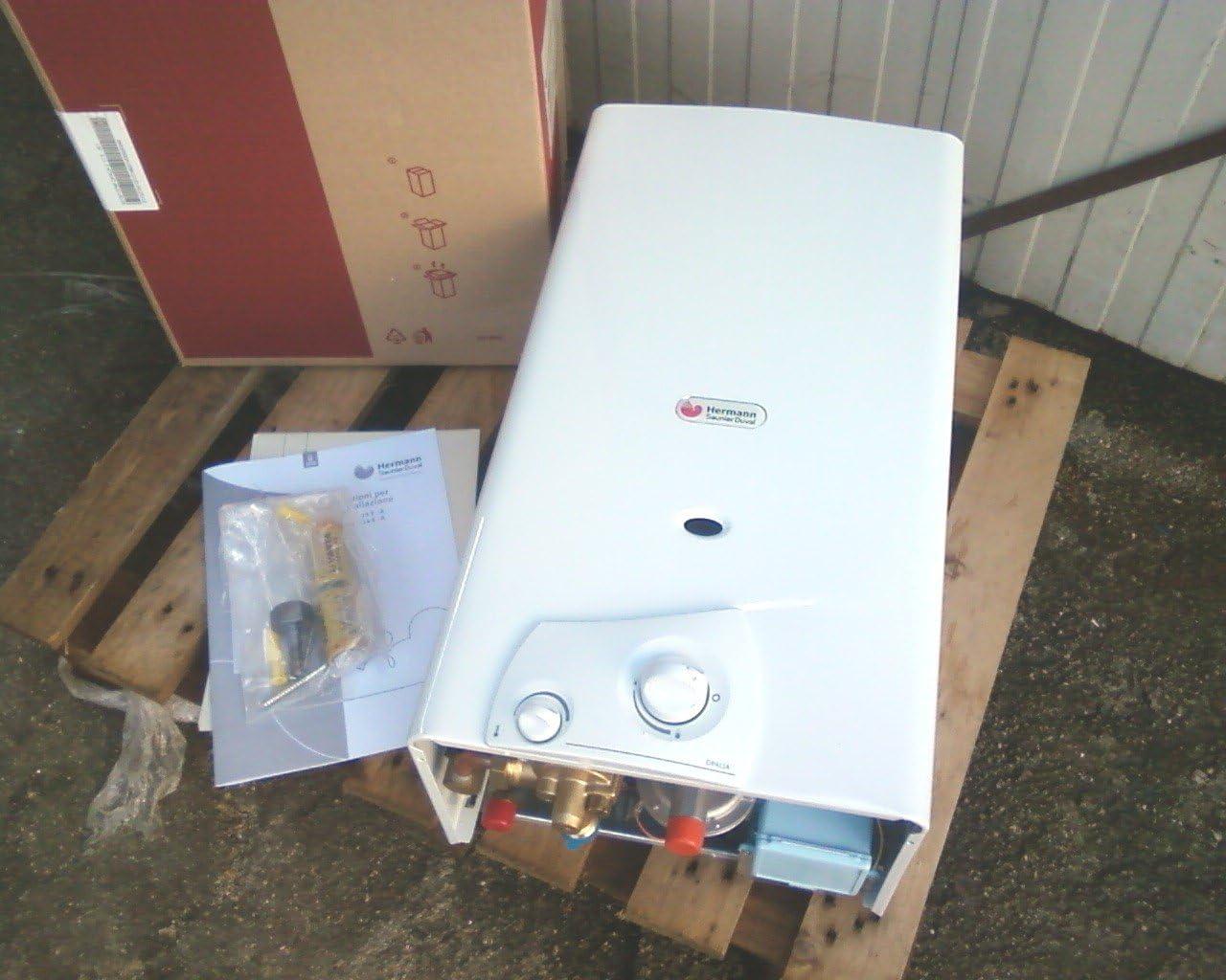 Calentador de baño OPALIA C 11 metano cámara abierta