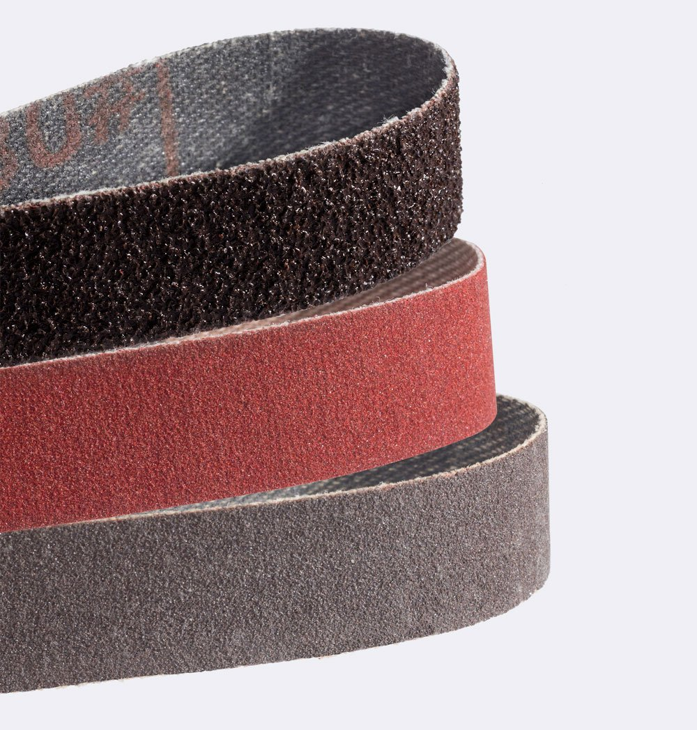 Smiths 50948 Fine 600-Grit Red Sharpener Replacement Belts 3-pack