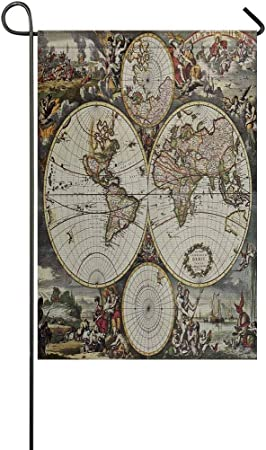 Amazon Com Interestprint Old Map Of World In Vintage Style