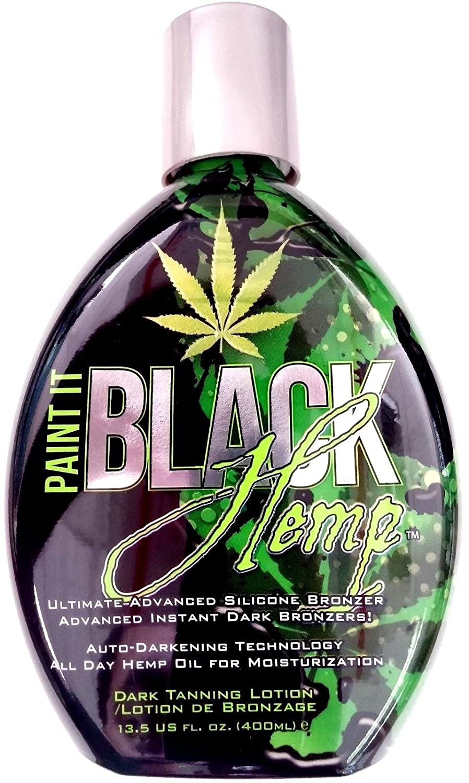 Paint It Black Hemp Indoor Tanning Bed Lotion