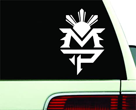 MPS Premium Mirror Decals Stickers x 2