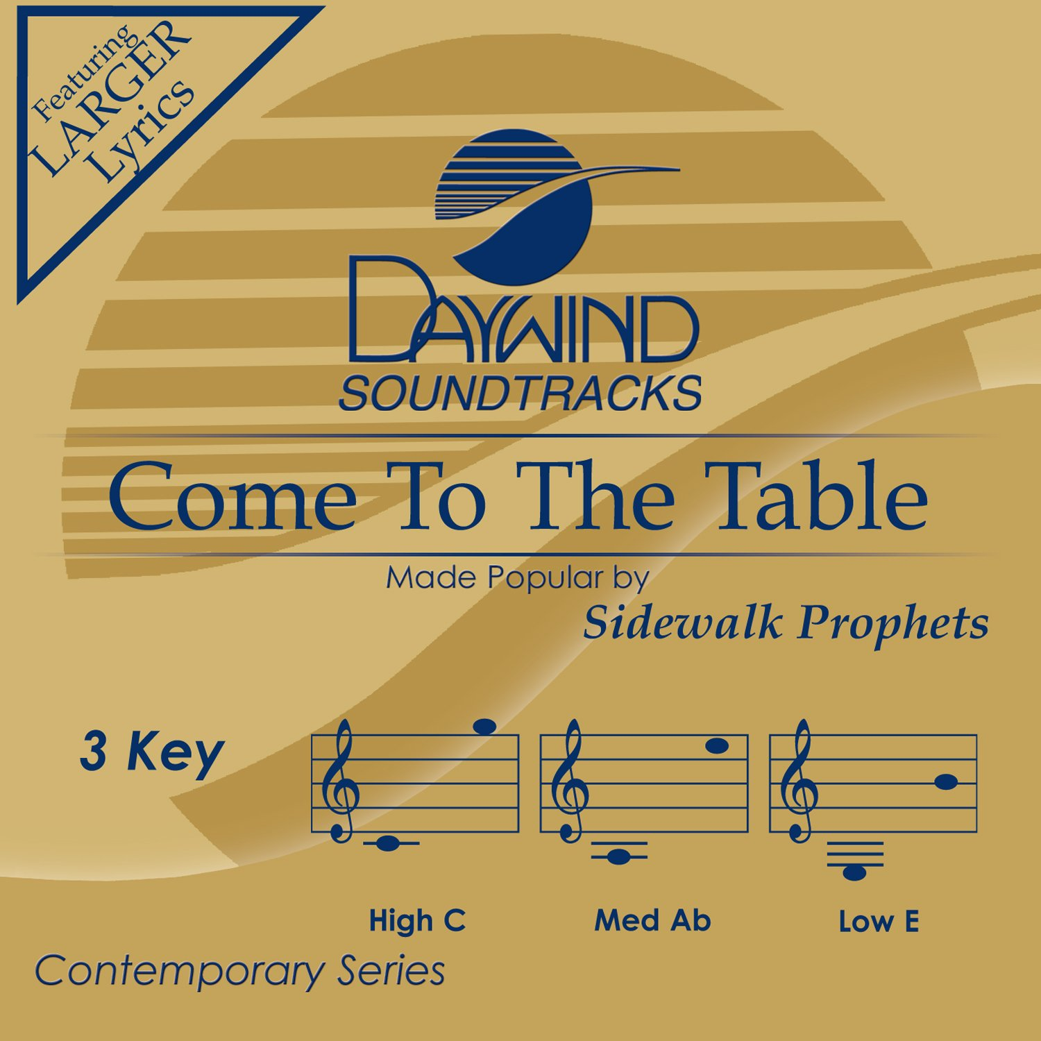 Come To The Table [Accompaniment/Performance Track]
