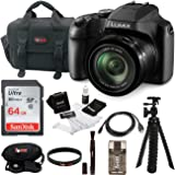 Panasonic LUMIX FZ80 4K 60x Zoom Digital Camera with SanDisk 64GB SD Card Bundle