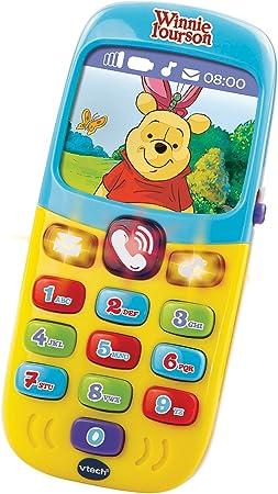 VTech Winnie Baby Smartphone Des découvertes - Electrónica para ...