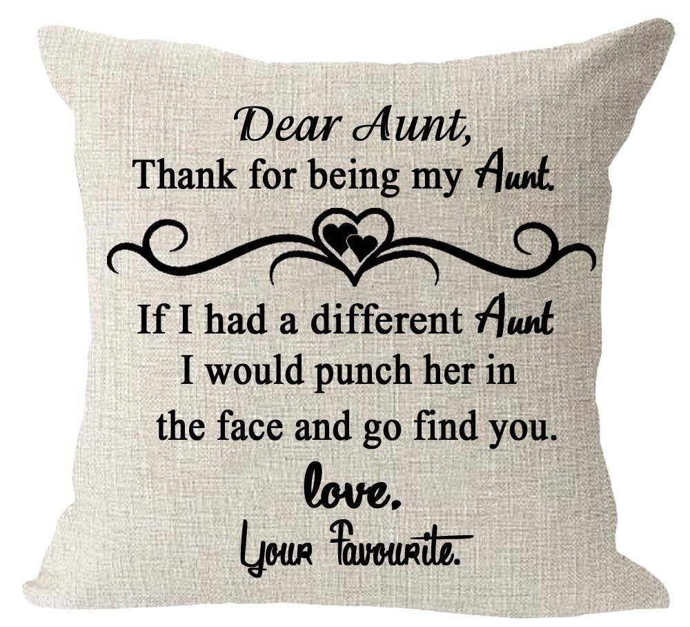 Amazon.com: Oitoere Aunt gift thank for be my Aunt quote ...