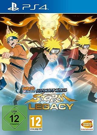 Naruto Shippuden Ultimate Ninja Storm Legacy 1 Ps4 Blu Ray Disc