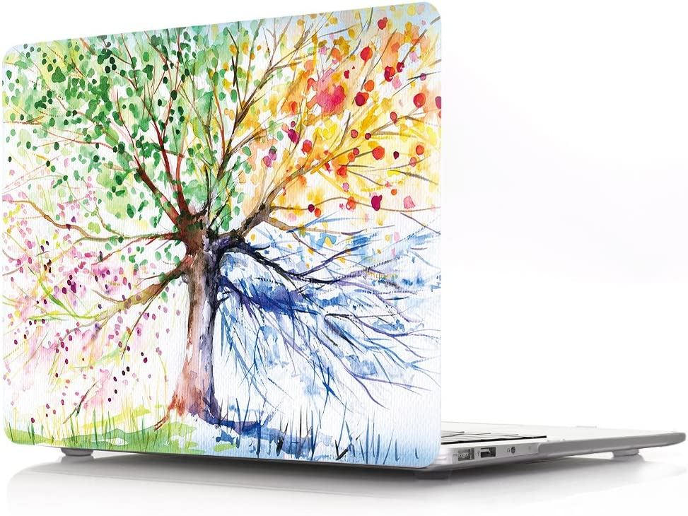CIAOYE(TM) MacBook Air 13.3 Inch Decal Paster Vinyl Sticker Skin Anti-Scratch Removable Colorful Sticker Cover for Apple MacBook Air 13-Inch Model A1466 A1369(Colorful Tree)