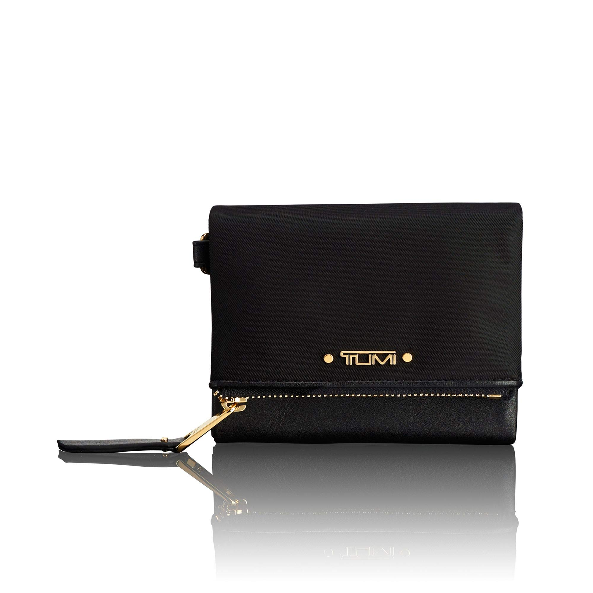 TUMI - Voyageur Flap Card Holder Case - Compact Wallet for Women - Black by TUMI