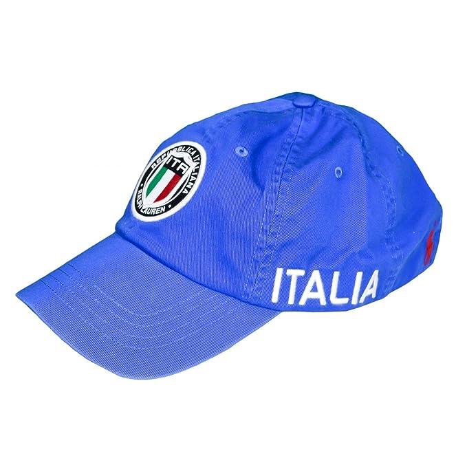 Ralph Lauren - Polo Gorra - Italia Adventur: Amazon.es: Ropa y accesorios