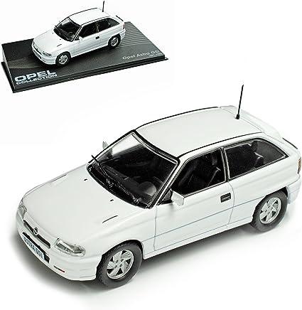 Opel Astra A Gsi 1991 1996 Weiss 3 Türer Nr 61 1 43 Ixo Modell Auto Mit Individiuellem Wunschkennzeichen Spielzeug