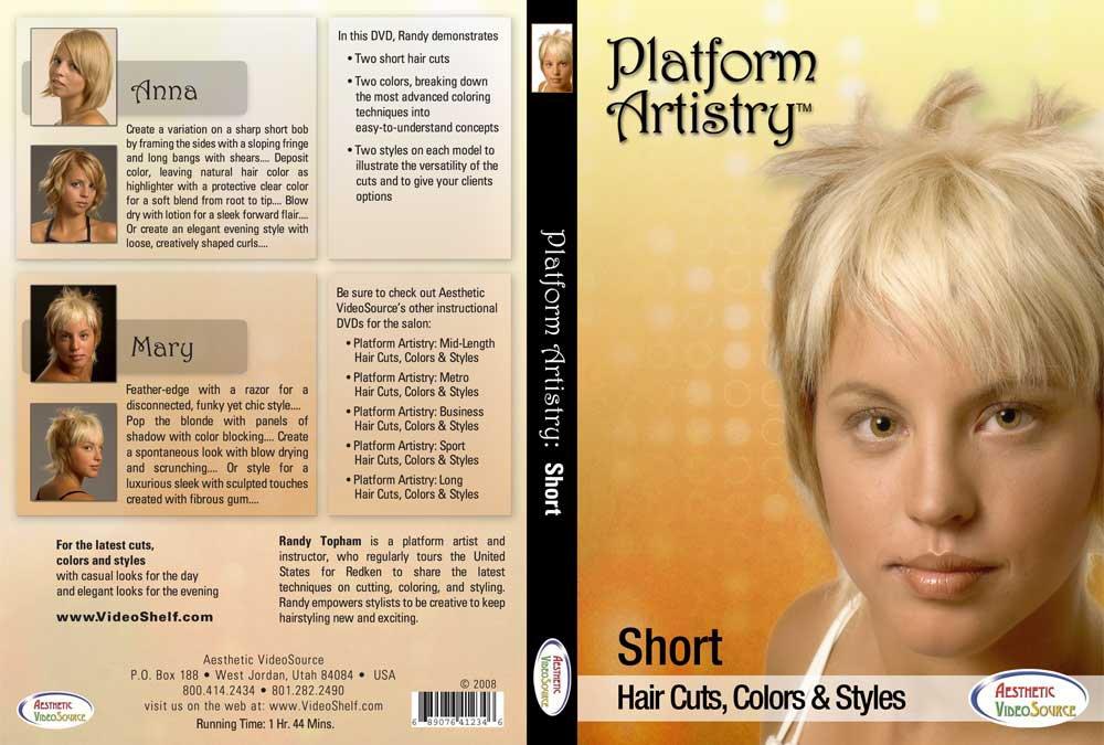 Amazon.com: Platform Artistry: Short Cuts, Colors & Styles -Advanced ...