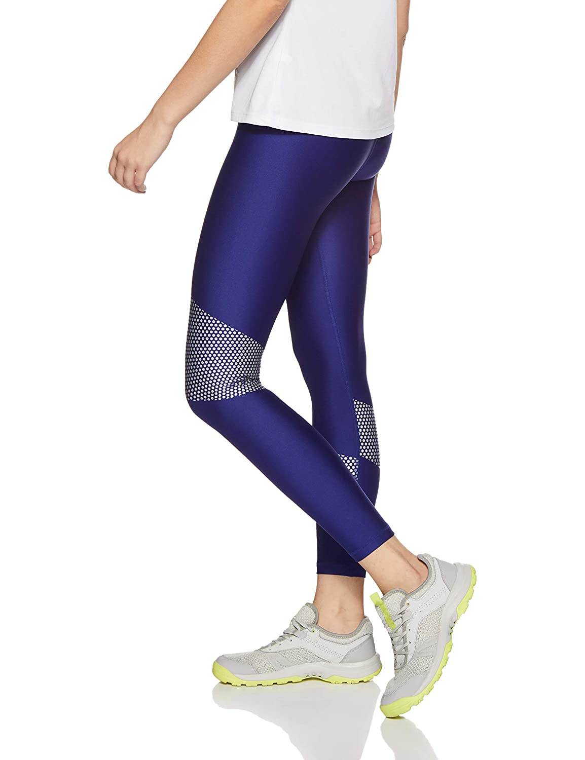 Under Armour Womens HeatGear Armour Graphic Ankle Crop Under Armour Apparel 1305429