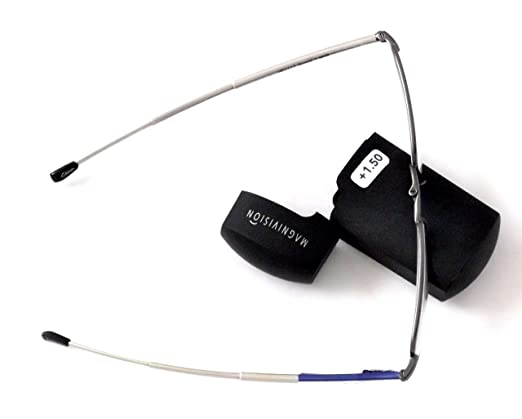 Clearance Folding Gideon Reading Glasses By Magnivision +1.50 By Foster Grant OAtai