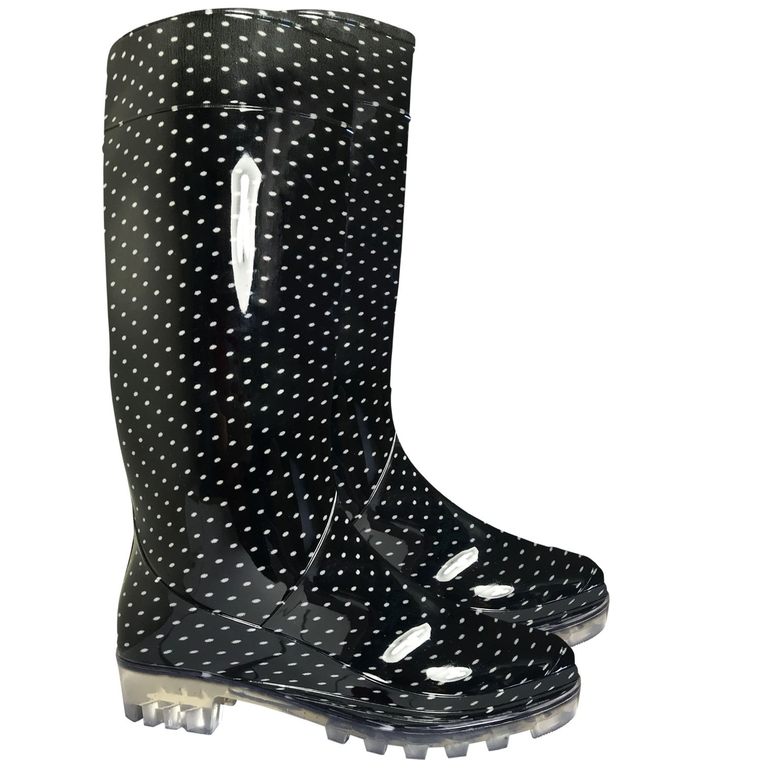 eb4e5a3cea1 SUGAR ISLAND Ladies Womens Wellies Snow Rain Festival Wellington Boots Size  UK 4, 5, 6, 7, 8