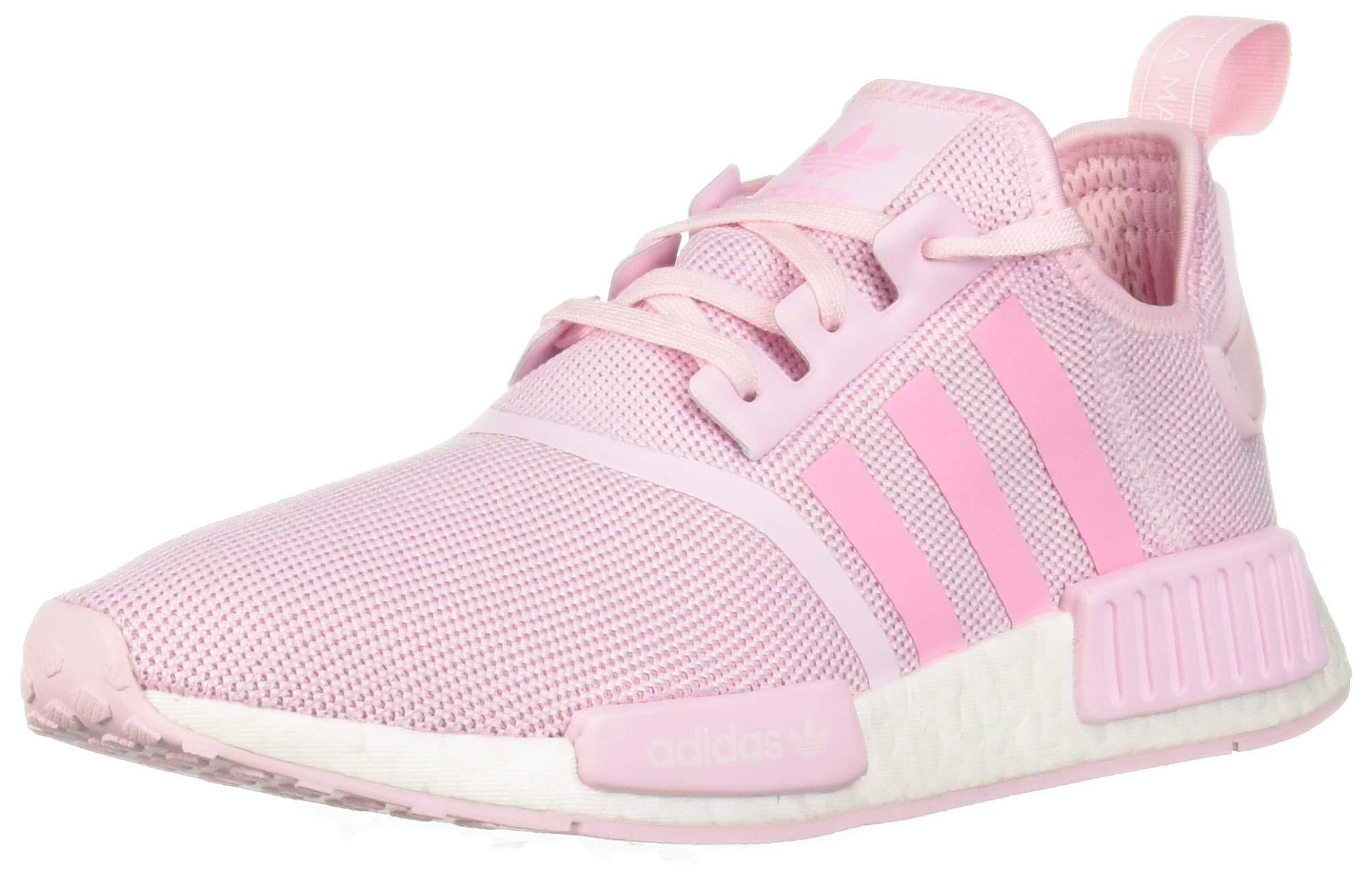 adidas Originals Unisex-Kid's NMD_R1 Running Shoe, Clear Pink/Shock Pink/White, 7 M US Big Kid by adidas Originals