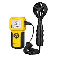 Holdpeak 826A Digital Wind Speed/Temperature Meter Anemometer Handheld with Data Logger Feature