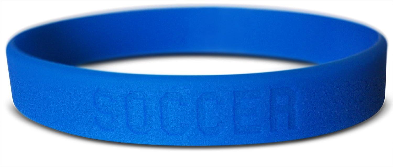 Novel Merk 16-Piece Kids Sports Wristband Bracelet Football Soccer Basketball /& Baseball Party Favor /& School Carnival Prize