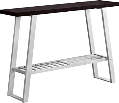 Monarch Specialties I 2116 Accent Table, One Size, Cappuccino