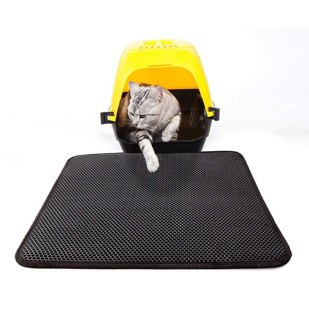 Tapis de Litière pour Chat, Tapis de Litière Umiwe Cat 15.7x19.6In(40x50cm)