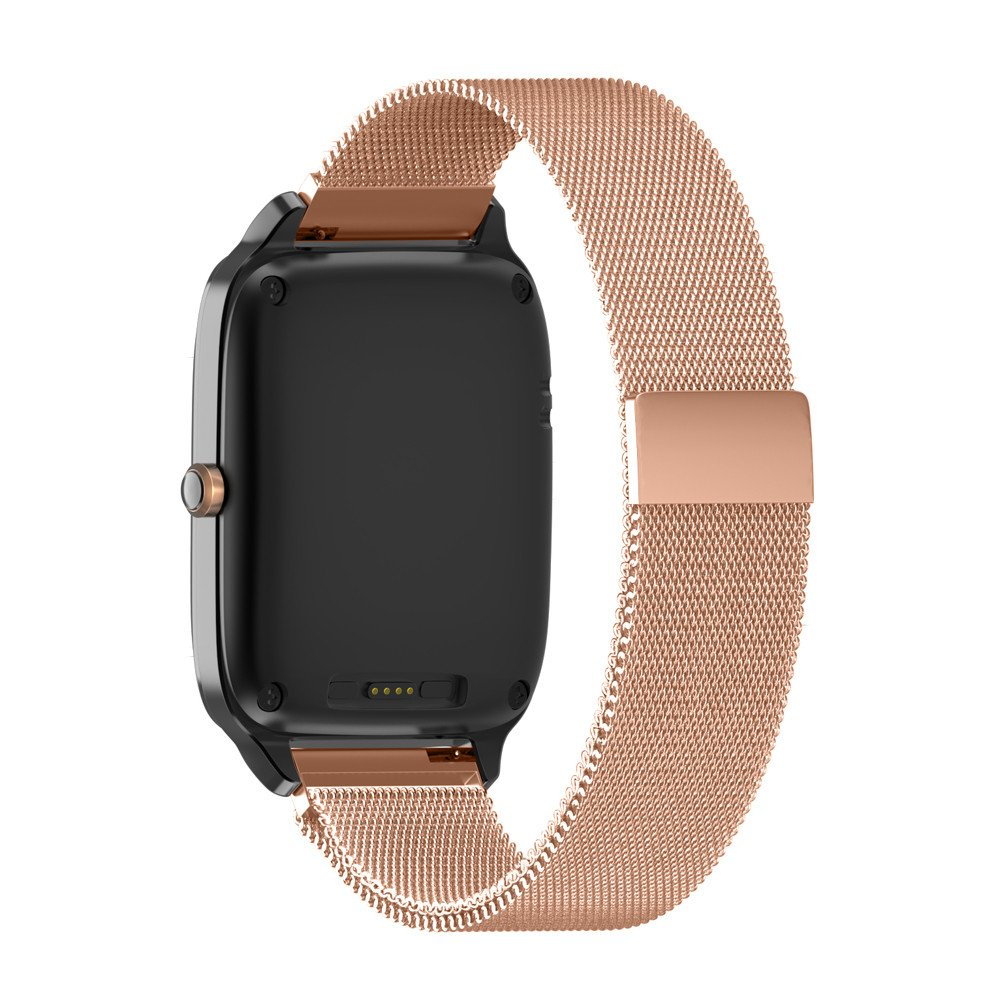 Coohole New Milanese Magnetic Loop Stainless Steel Band Strap Bracelet for ASUS ZenWatch 2