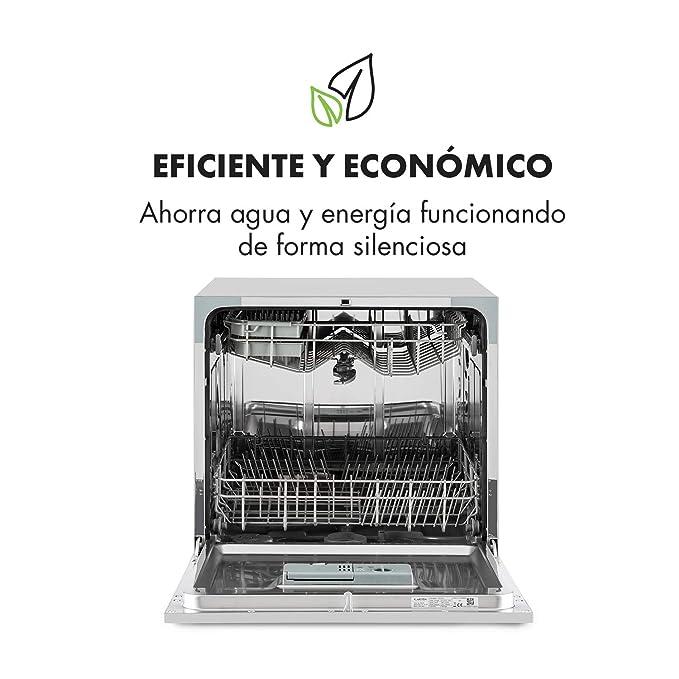 KLARSTEIN Amazonia 8 Lavavajillas - Diseño Compacto, Clase ...