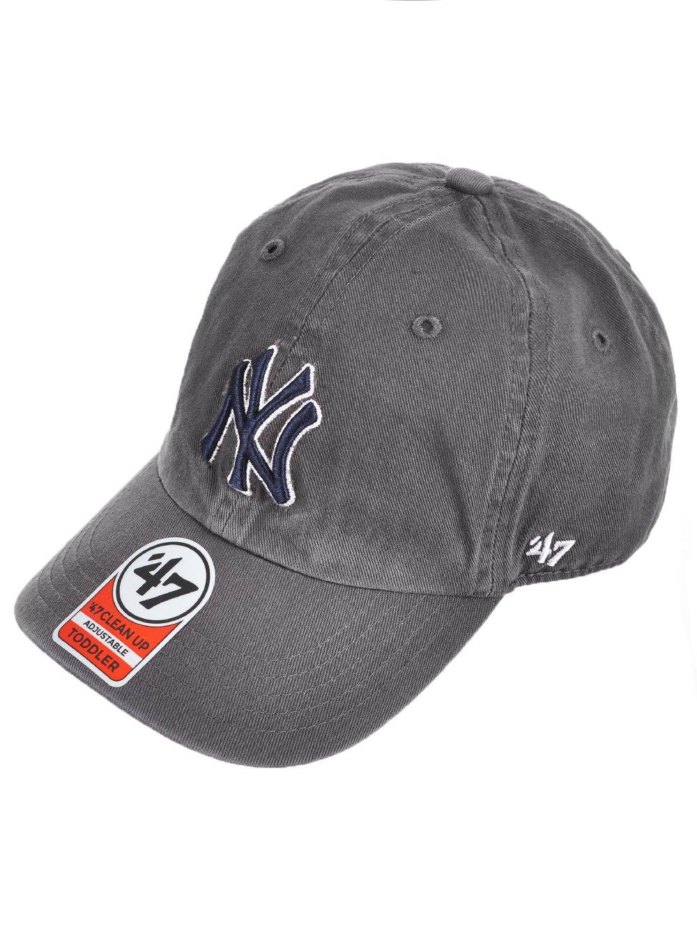 '47 York Yankees Baseball Cap - Gray, one Size