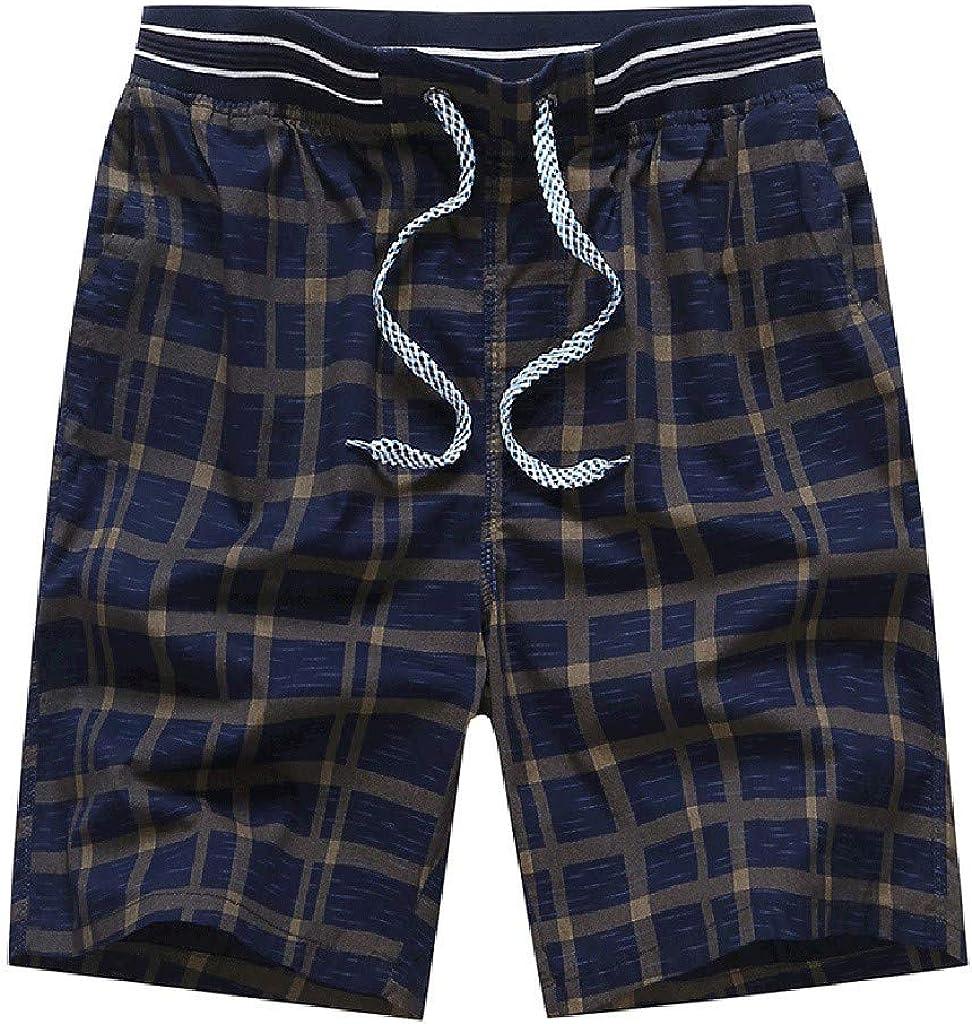 STORTO Mens Printed Casual Shorts Workout Summer Fashion Loose Comfortable Pockets Shorts