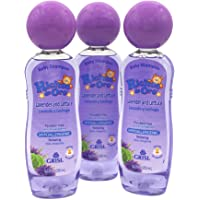 Ricitos de Oro Lavender Baby Shampoo, Children Cleansing Shampoo with Natural Lavender, Formulated for Babies, 3-Pack of…