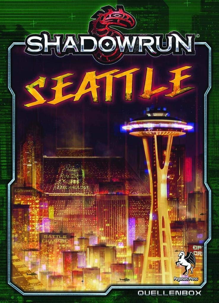 Shadowrun 5: Seattle - Stadt der Schatten (Box): Amazon.de: Pegasus ...