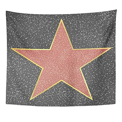 Amazon.com: VaryHome Tapestry Walk of Fame Hollywood Boulevard ...