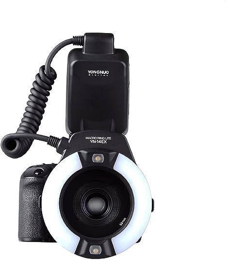 Yongnuo YN-14EX – Flash TTL Light + adaptador para cámara réflex ...
