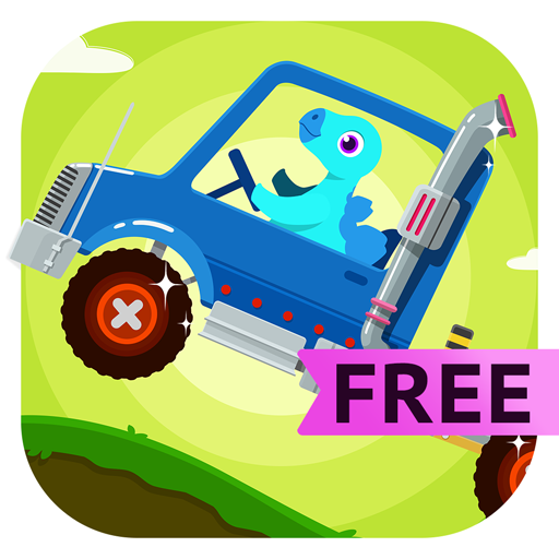 Dinosaur Truck - Monster Truck Driving & Simulator Games For Kids Free (Game Ninjago)