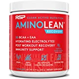 RSP AminoLean Recovery - All-in-One Post Workout BCAA - Amino Acids, Electrolytes, BCAAs and EAAs for Hydration Boost, Immuni