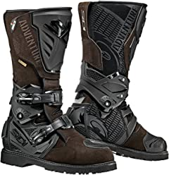 Sidi Adventure 2 Gore-Tex Motorcycle Boots (9.5/43, Brown)