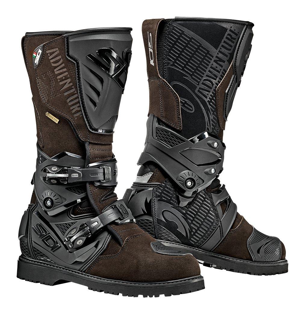Sidi Adventure 2 Gore-Tex Motorcycle Boot, Black, Size 43 Sidi Boots Sidi Sport S.R.L. VADVENTURE2