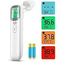 Termómetro de frente, termómetro infrarrojo digital para niños y adultos, termómetro digital sin contacto con lectura…