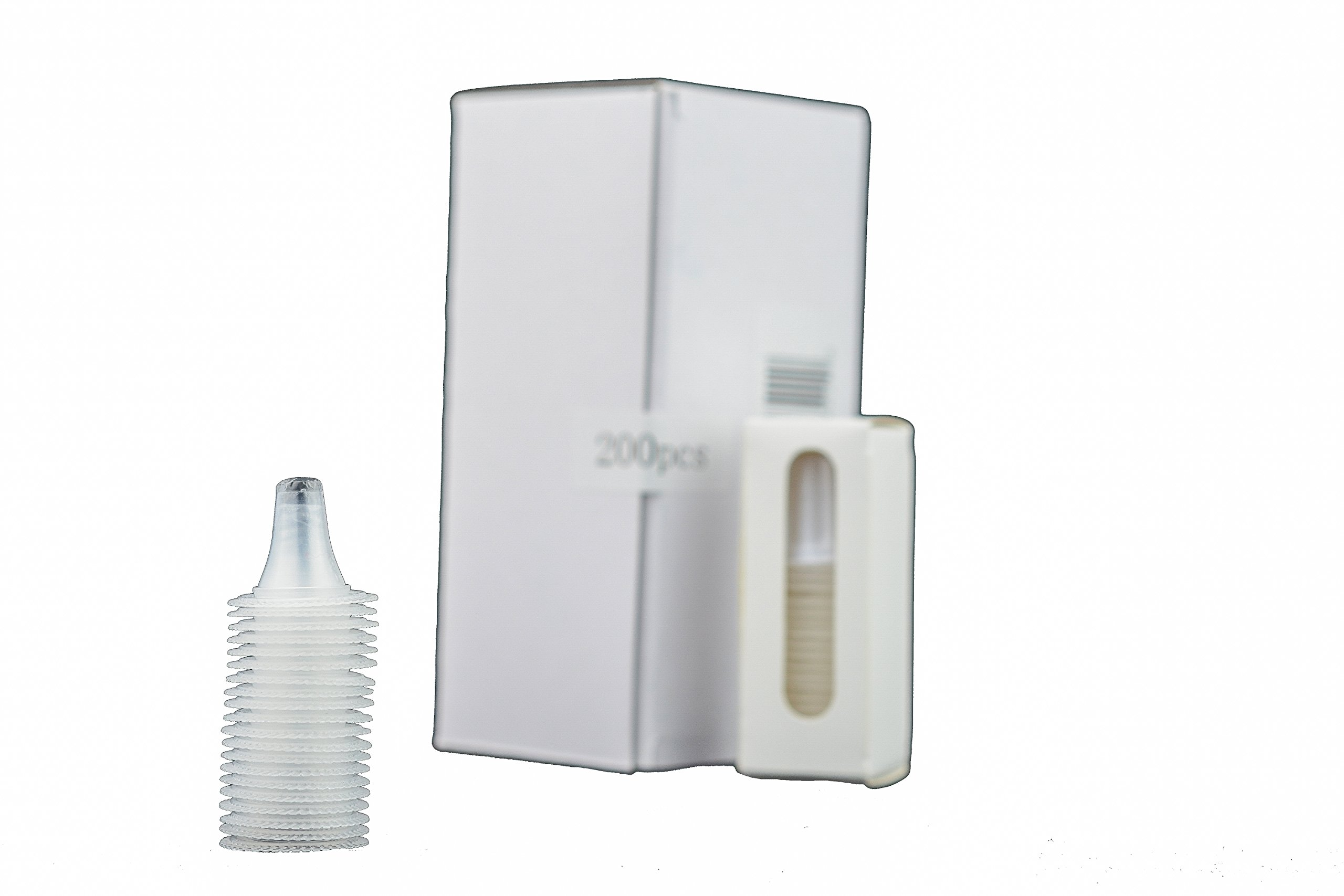 Braun Ear Thermometer DISPOSABLE PROBE COVERS _ Box of 20 000 Lens Filters (Made of closed-cell foam that is laminated with a sheet of high density polyethylene plastic film). P&P Medical Surgical LLC by P&P Medical Surgical