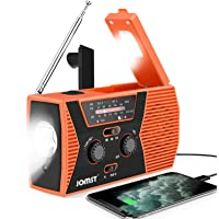 $31 » Jomst 4000mAh Emergency Radio,Hand Crank Portable Radio,NOAA/AM/FM Weather Solar…