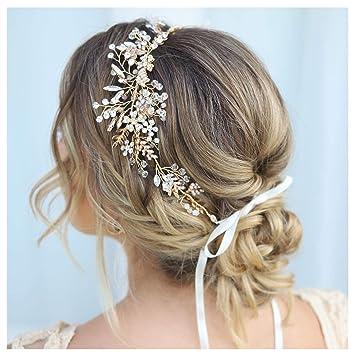 Wedding Hair Comb 44 Rhinestone Hairpiece Pearl and Rhinestone Hair Accessory Bridesmaid Bridal Headpiece