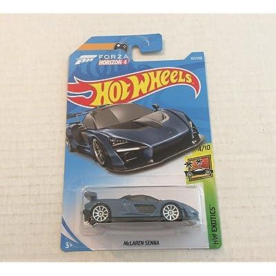 Hot Wheels 2020 Forza Horizon 4 Hw Exotics: McLaren Senna (Blue) - International Card: Toys & Games