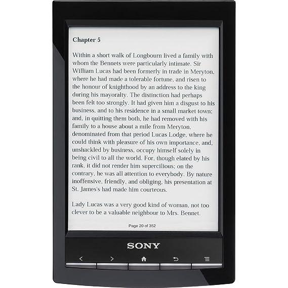 Sony PRST1BC - Lector de ebooks, Pantalla Escala de Grises, 6 ...