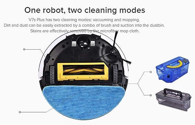 Amazon.com: ILIFE Smart Robotic Vacuum Cleaner (V7s Plus Rose Gold US PLUG): Kitchen & Dining