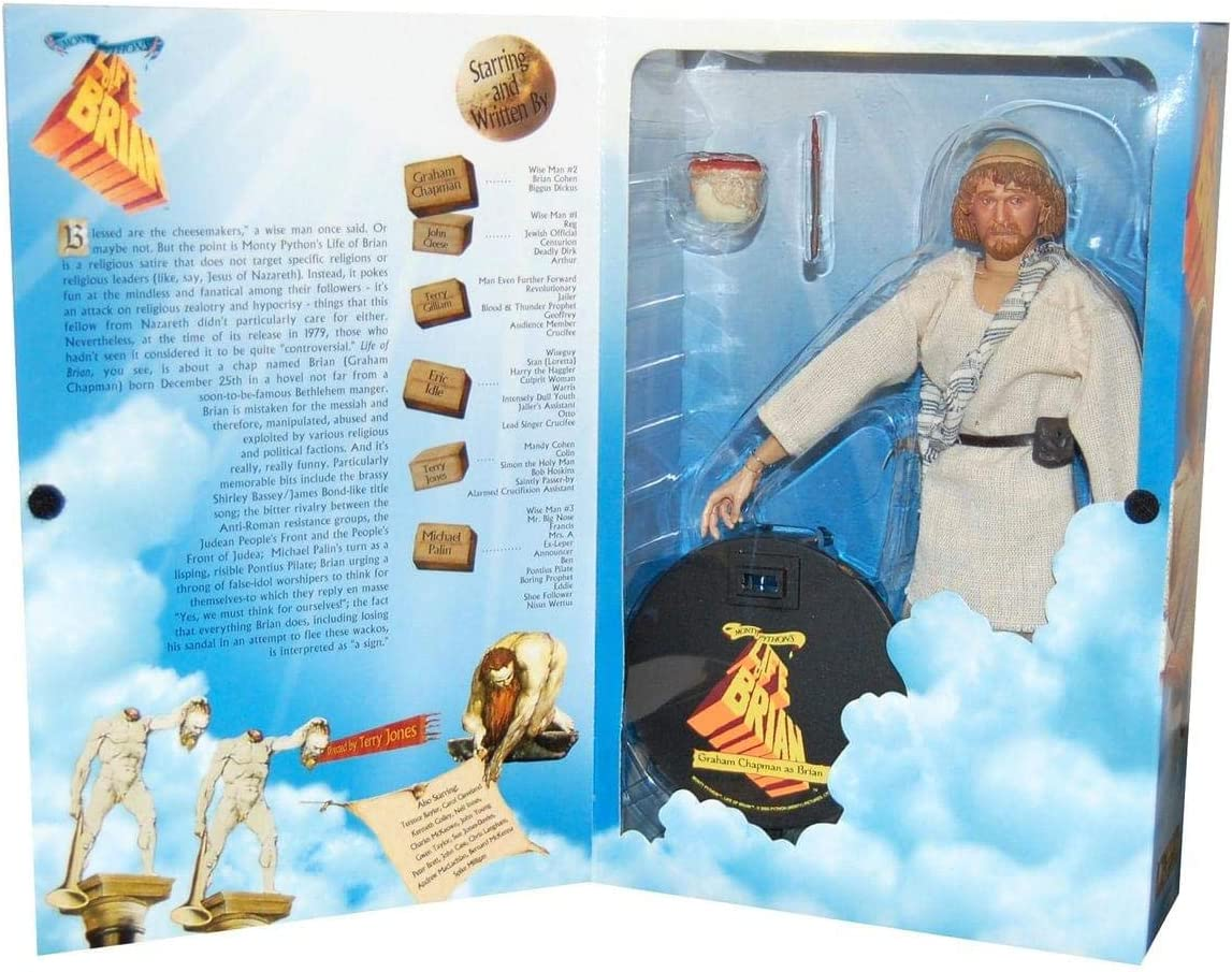 Amazon Com Monty Python Brian 12 Inch Figure Toys Games