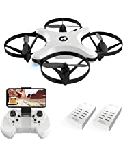 Holy Stone HS220 Drone with Camera FPV Live Video for Adults & Kids, RC Quadcopter with WiFi APP Control, Foldable Arms, Altitude Hold, Headless Mode, One Key Take Off/Landing, 3D Flips, Toy Gift