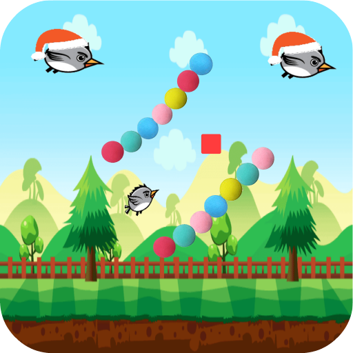 Christmas.Bird.Fly: Don't Touch Balls (Top Ball Do Golf)