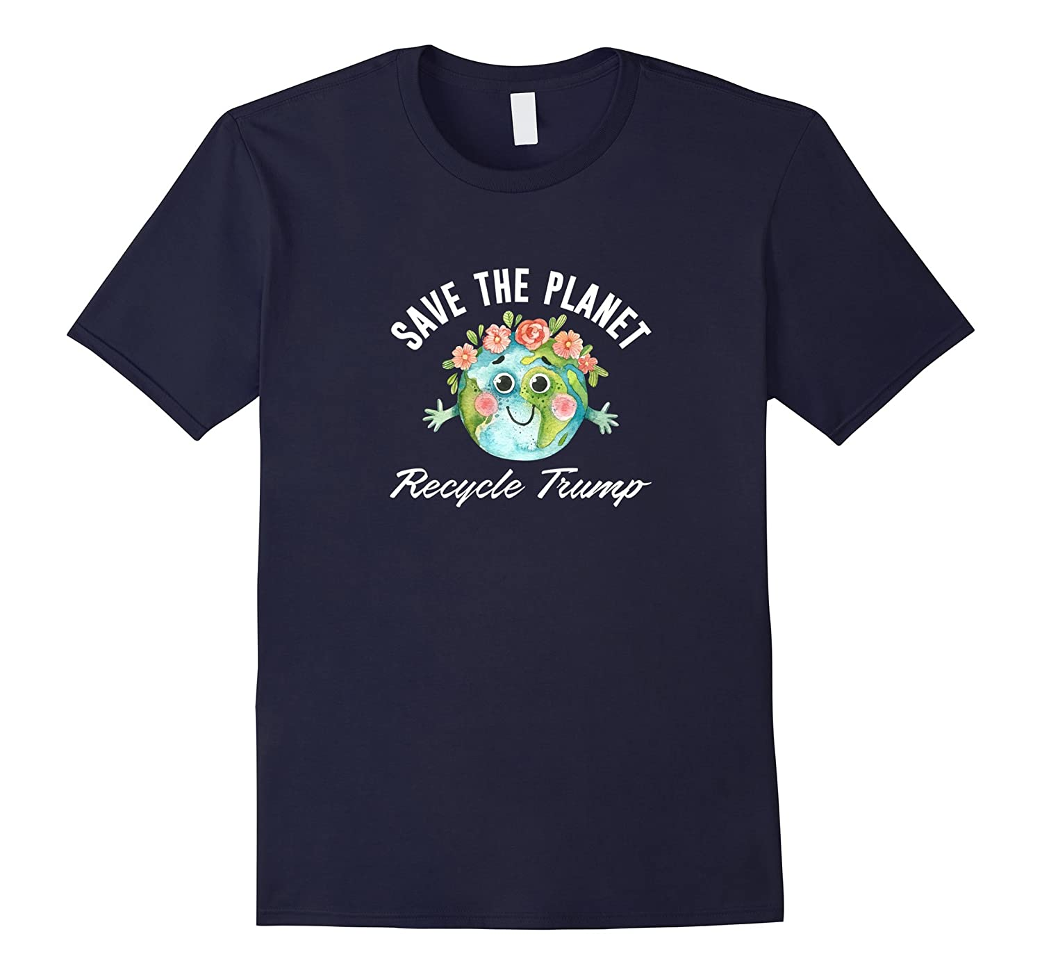Save the Planet - Recycle Trump - T-shirt-CD