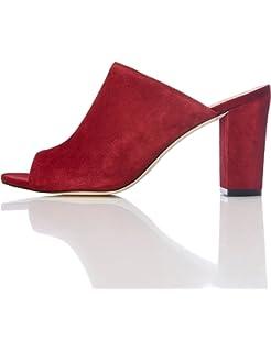 Steve Madden Damen Dalis Sandal Pantoletten, Rot (Red), 39 EU